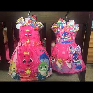 Other - Baby Shark Dress Set